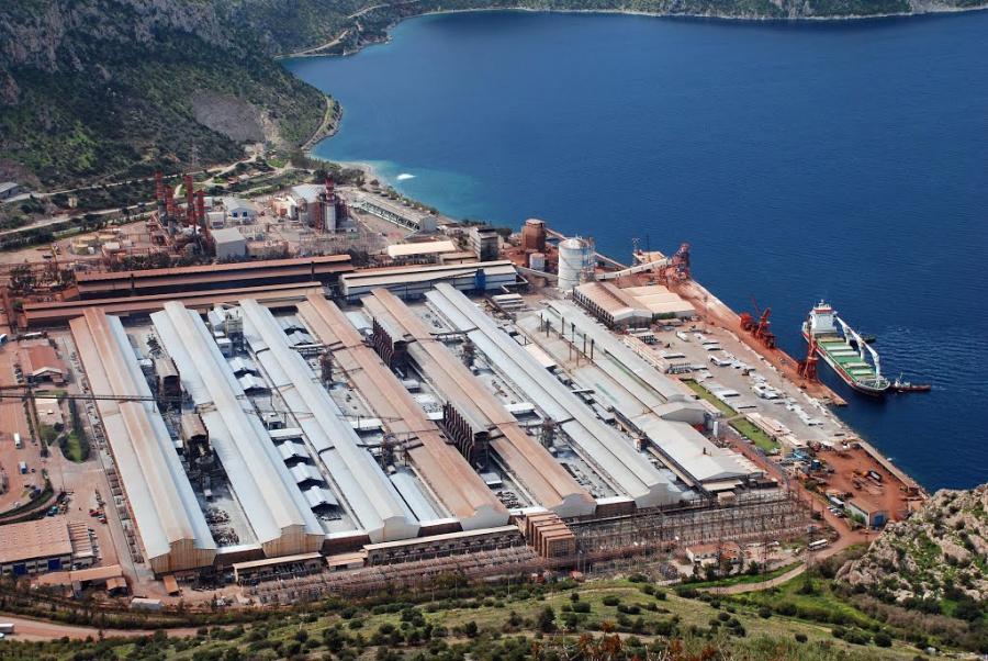 Στο -26% η πτώση της κατανάλωσης ρεύματος των βιομηχανιών τον Απρίλιο – Το  Αλουμίνιον της Ελλάδος συγκράτησε την πλήρη κατάρρευση