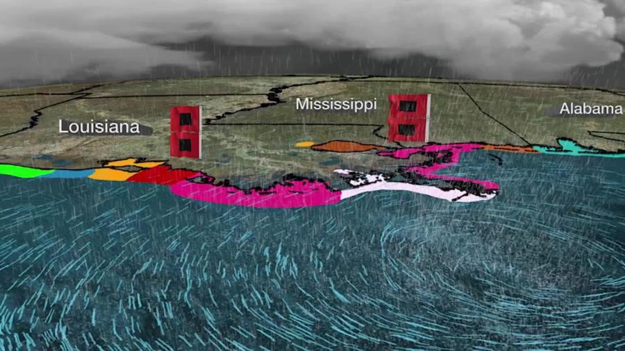 Ο Τυφώνας IDA κλείνει διυλιστήρια, παραγωγή πετρελαίου και λιμάνια στον Κόλπο του Μεξικού