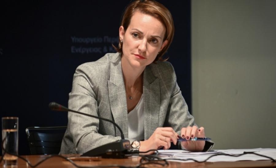 Α.Σδούκου στο WEN: Αισιοδοξούμε για πλήρη αναμόρφωση της αδειοδότησης έργων ΑΠΕ έως το τέλος του έτους